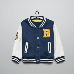 Zara Baby Letterman Jacket 4/40